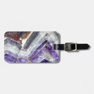 Amethyst Mountain Quartz Luggage Tag