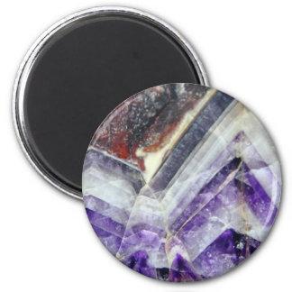 Amethyst Mountain Quartz Magnet