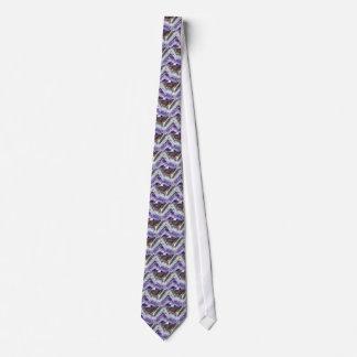 Amethyst Mountain Quartz Tie