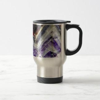Amethyst Mountain Quartz Travel Mug