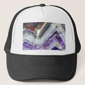 Amethyst Mountain Quartz Trucker Hat