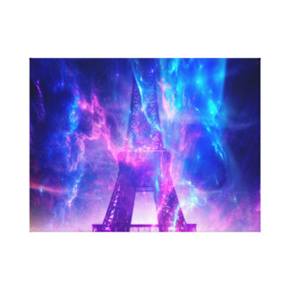 Amethyst Parisian Dreams Canvas Print