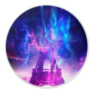 Amethyst Parisian Dreams Ceramic Knob