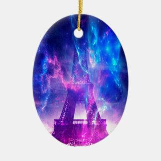 Amethyst Parisian Dreams Ceramic Ornament