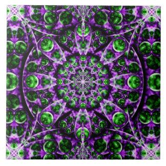 Amethyst Portal Mandala Tile