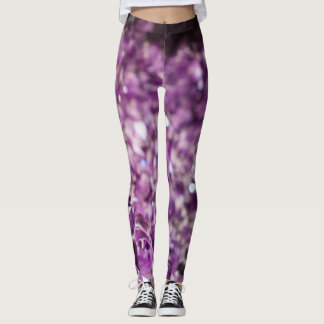 Amethyst print Leggings