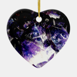 Amethyst Products By Bliss Travelers Ceramic Ornament