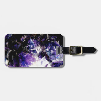 Amethyst Products By Bliss Travelers Luggage Tag