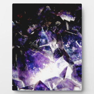 Amethyst Products By Bliss Travelers Plaque