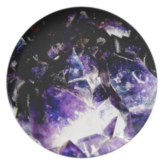 Amethyst Products By Bliss Travelers Plates