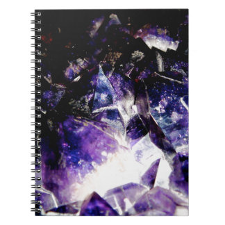 Amethyst Products By Bliss Travelers Spiral Notebook