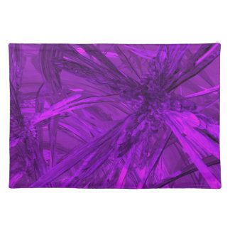 Amethyst Purple Abstract Placemat