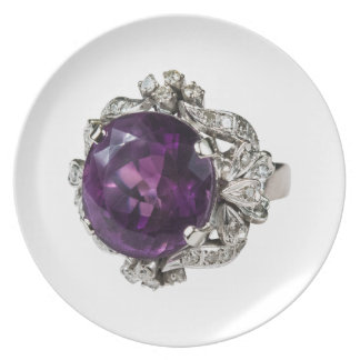 Amethyst Ring I Plate Collection by Mysistergirl