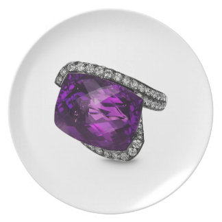 Amethyst Ring Plate Collection by Mysistergirl