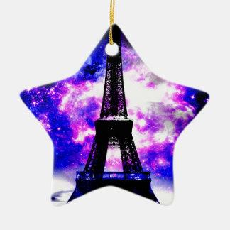 Amethyst Rose Parisian Dreams Ceramic Ornament