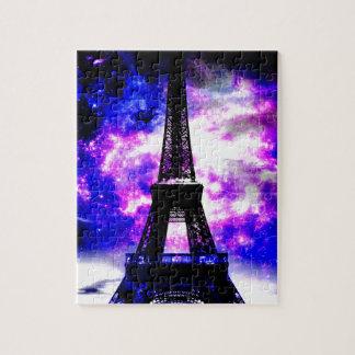 Amethyst Rose Parisian Dreams Jigsaw Puzzle