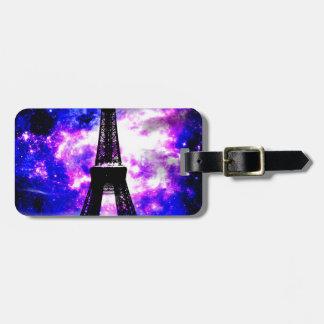 Amethyst Rose Parisian Dreams Luggage Tag