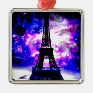 Amethyst Rose Parisian Dreams Metal Ornament