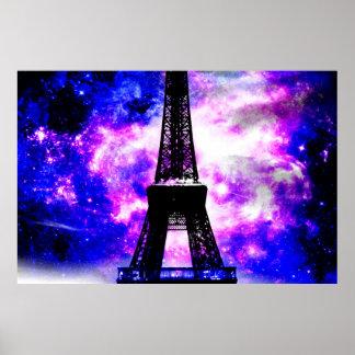 Amethyst Rose Parisian Dreams Poster