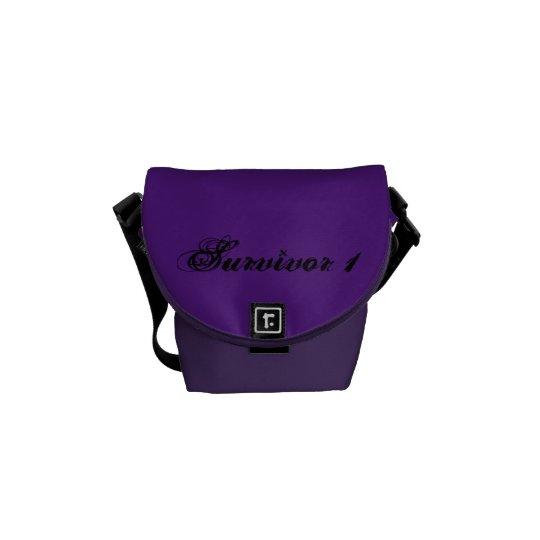 Amethyst & Royal Purple Small Survivor 1 Bag Courier Bag
