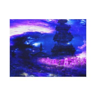 Amethyst Sapphire Bali Dreams Canvas Print