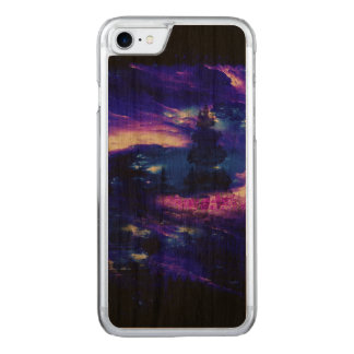 Amethyst Sapphire Bali Dreams Carved iPhone 8/7 Case