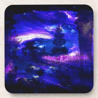 Amethyst Sapphire Bali Dreams Coaster