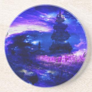 Amethyst Sapphire Bali Dreams Drink Coasters