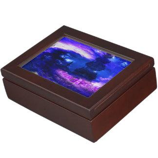 Amethyst Sapphire Bali Dreams Keepsake Box
