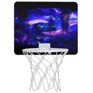 Amethyst Sapphire Bali Dreams Mini Basketball Backboard