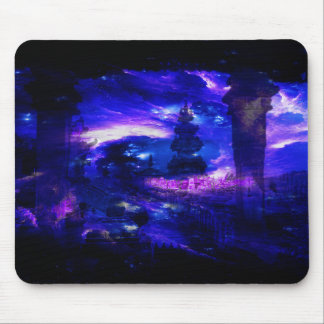 Amethyst Sapphire Bali Dreams Mouse Pad