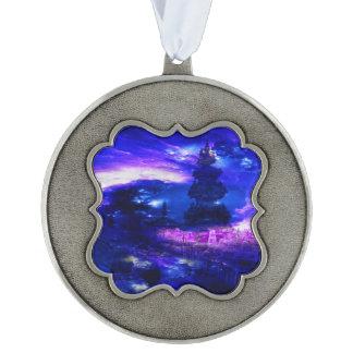 Amethyst Sapphire Bali Dreams Ornament