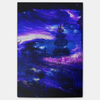 Amethyst Sapphire Bali Dreams Post-it Notes