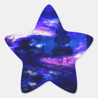 Amethyst Sapphire Bali Dreams Star Sticker