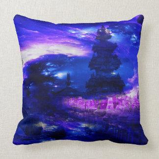 Amethyst Sapphire Bali Dreams Throw Pillow