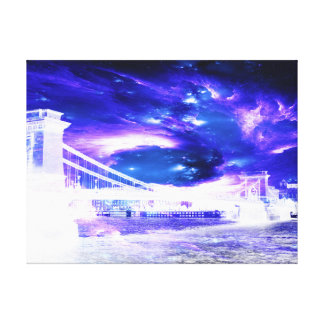 Amethyst Sapphire Budapest Dreams Canvas Print