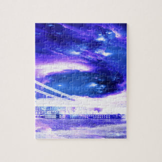 Amethyst Sapphire Budapest Dreams Jigsaw Puzzle