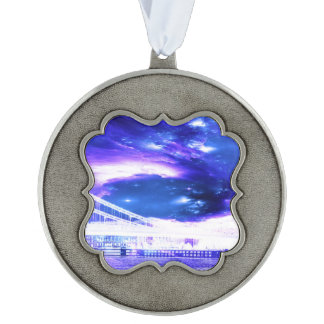 Amethyst Sapphire Budapest Dreams Ornament