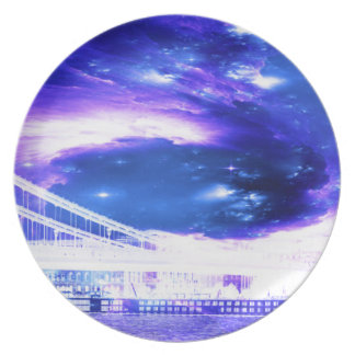 Amethyst Sapphire Budapest Dreams Party Plates