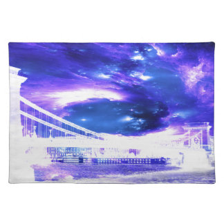 Amethyst Sapphire Budapest Dreams Place Mat