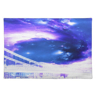 Amethyst Sapphire Budapest Dreams Place Mats