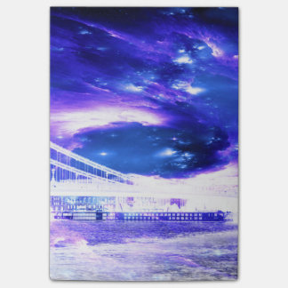Amethyst Sapphire Budapest Dreams Post-it Notes