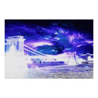 Amethyst Sapphire Budapest Dreams Poster
