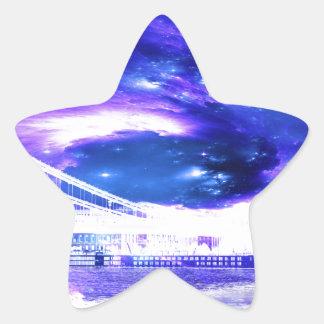 Amethyst Sapphire Budapest Dreams Star Sticker