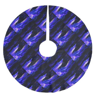 Amethyst Sapphire Indian Dreams Brushed Polyester Tree Skirt