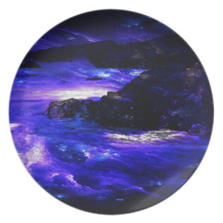 Amethyst Sapphire Indian Dreams Plate