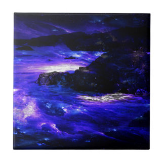 Amethyst Sapphire Indian Dreams Tile