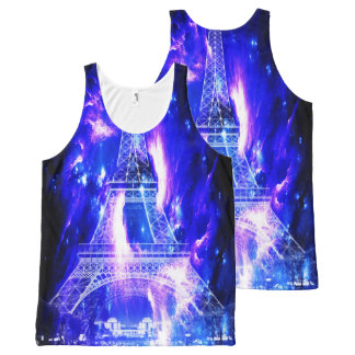 Amethyst Sapphire Paris Dreams All-Over-Print Tank Top