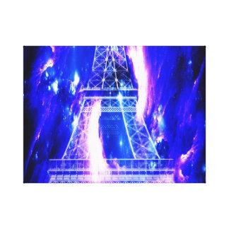 Amethyst Sapphire Paris Dreams Canvas Print