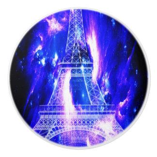 Amethyst Sapphire Paris Dreams Ceramic Knob